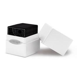 Ultra Pro Ultra Pro: Satin Cube Deck Box - Arctic White