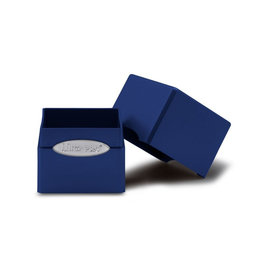 Ultra Pro Ultra Pro: Satin Cube Deck Box - Pacific Blue