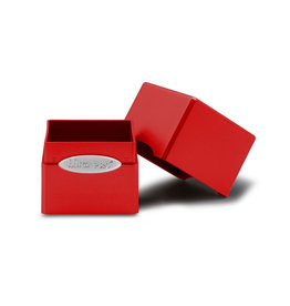 Ultra Pro Ultra Pro: Satin Cube Deck Box - Apple Red