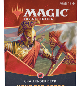 Wizards of the Coast Magic The Gathering: 2021 Challenger Deck Mono Red Aggro