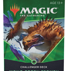 Wizards of the Coast Magic The Gathering: 2021 Challenger Deck Mono Green Stompy