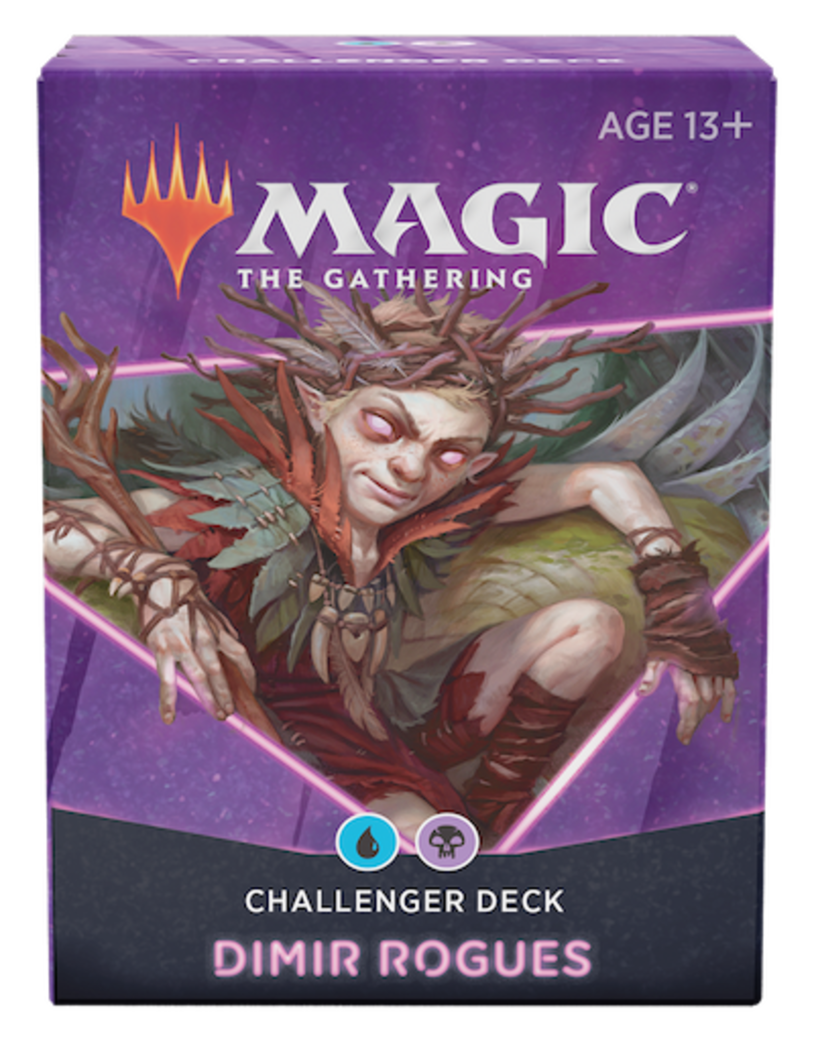 Wizards of the Coast Magic The Gathering: 2021 Challenger Deck Blue/Black Dimir Rogues