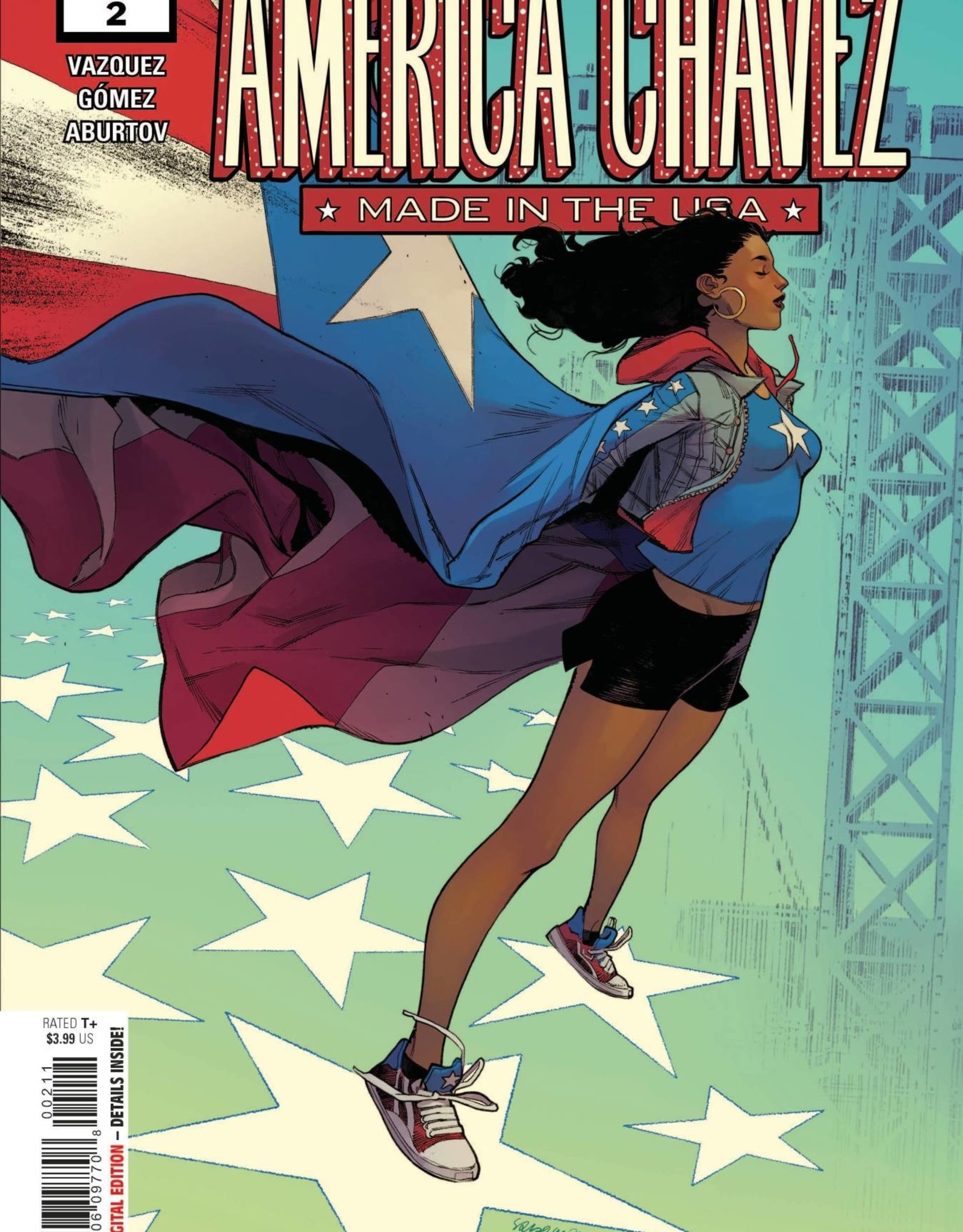 Marvel Comics America Chavez Made In USA #2