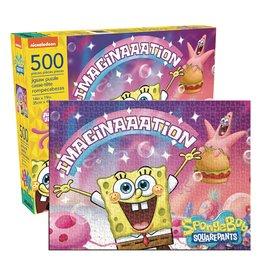 NMR Aquarius Spongebob Square Pants Imagination 500pc Puzzle