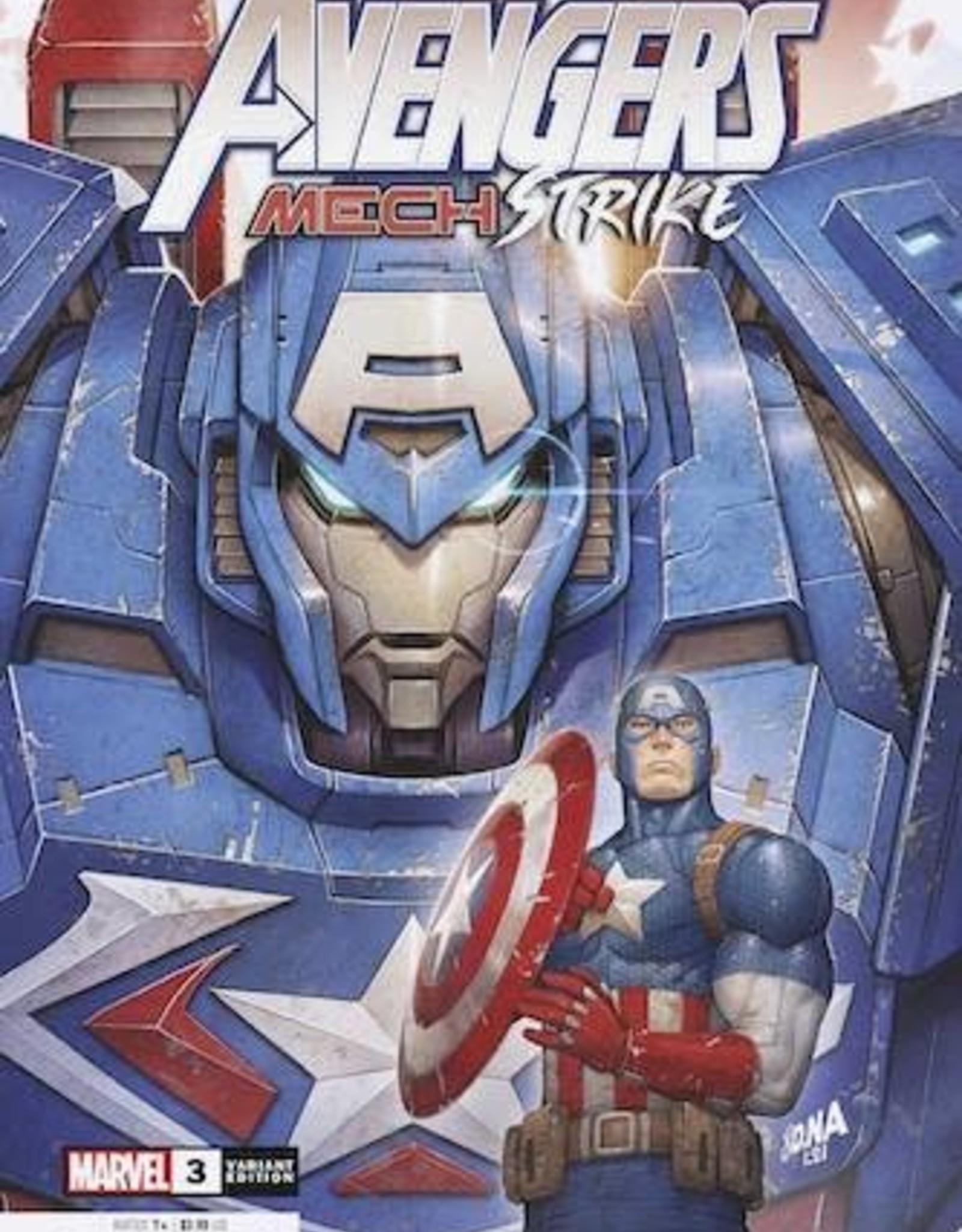 Marvel Comics Avengers Mech Strike #3 Nakayama Var