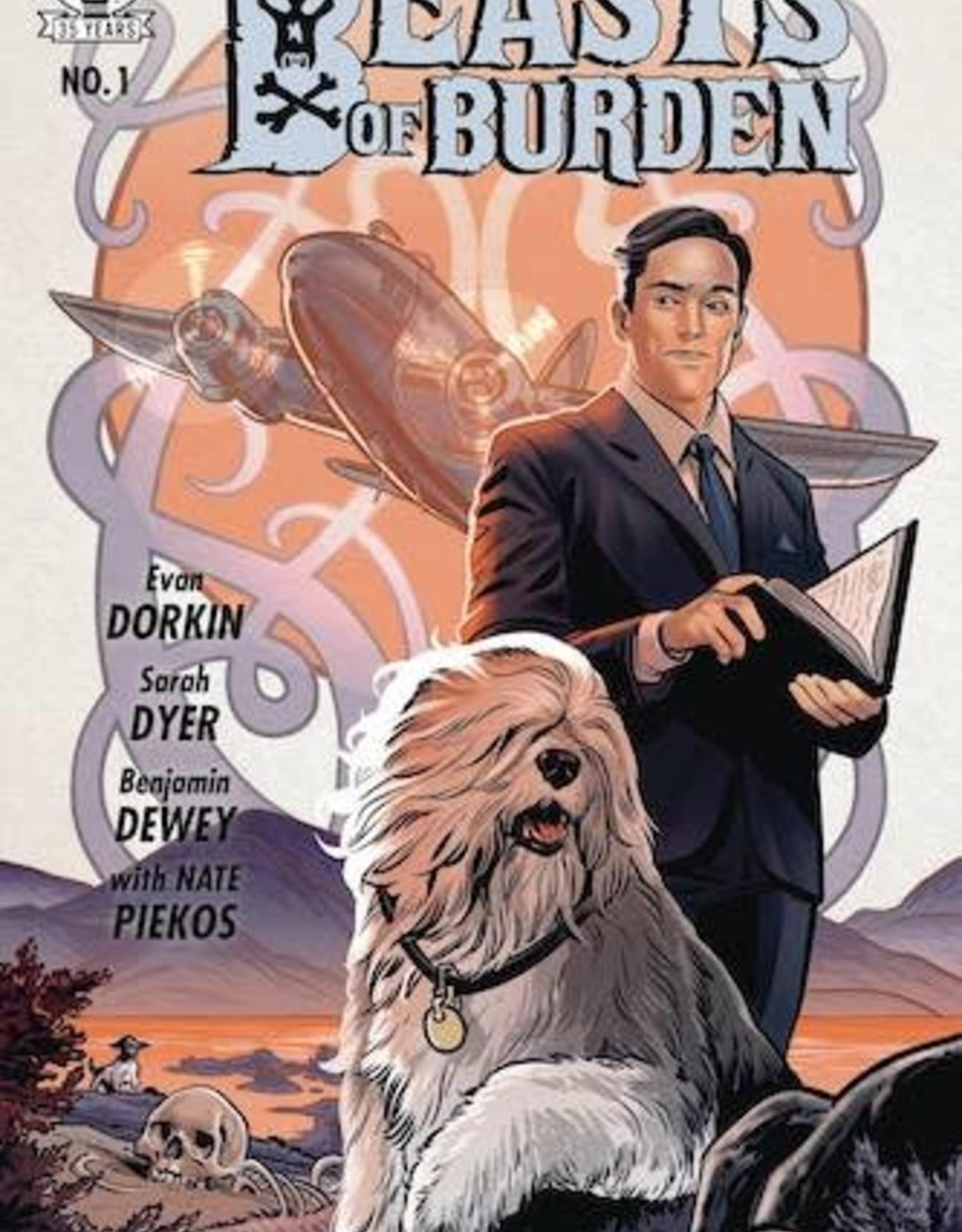 Dark Horse Comics Beasts Of Burden Occupied Territory #1 Cvr A Dewey