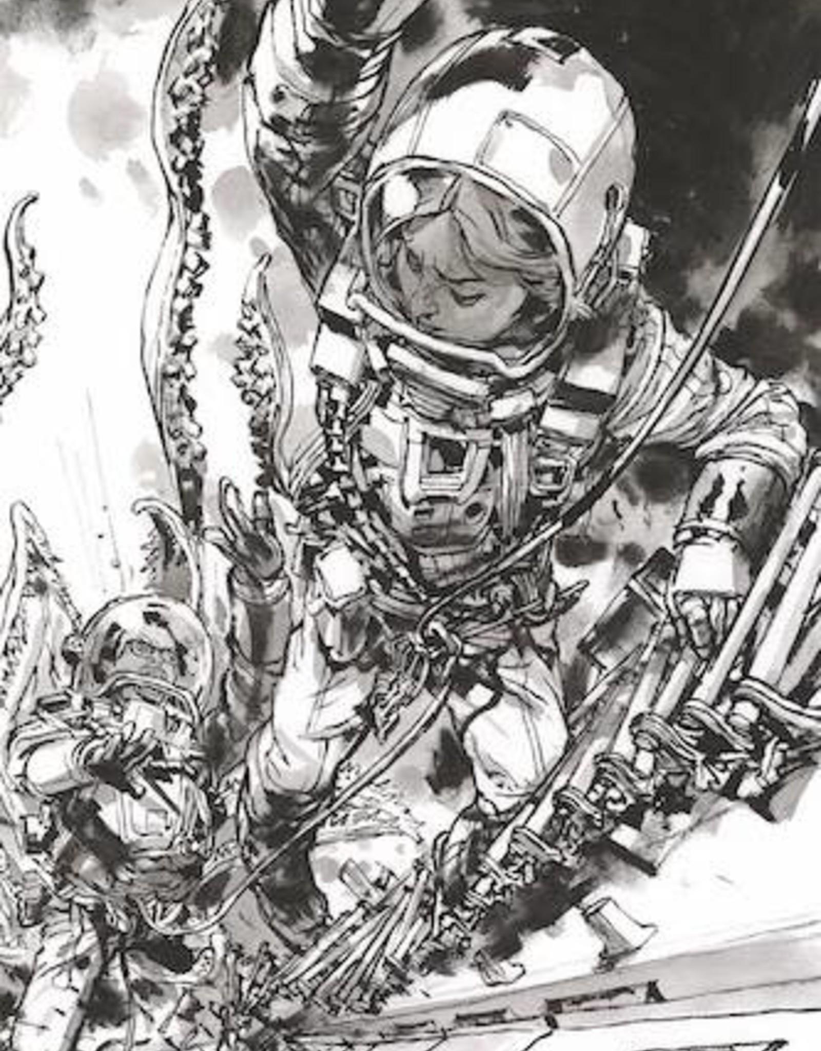 Image Comics Deep Beyond #3 Cvr F Gi B&W Virgin
