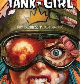 Albatross Funnybooks King Tank Girl #4 Cvr B Staples Cardstock