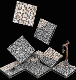 Wizkids Warlock Tiles : Town And Village Tiles: Town Square Expansion