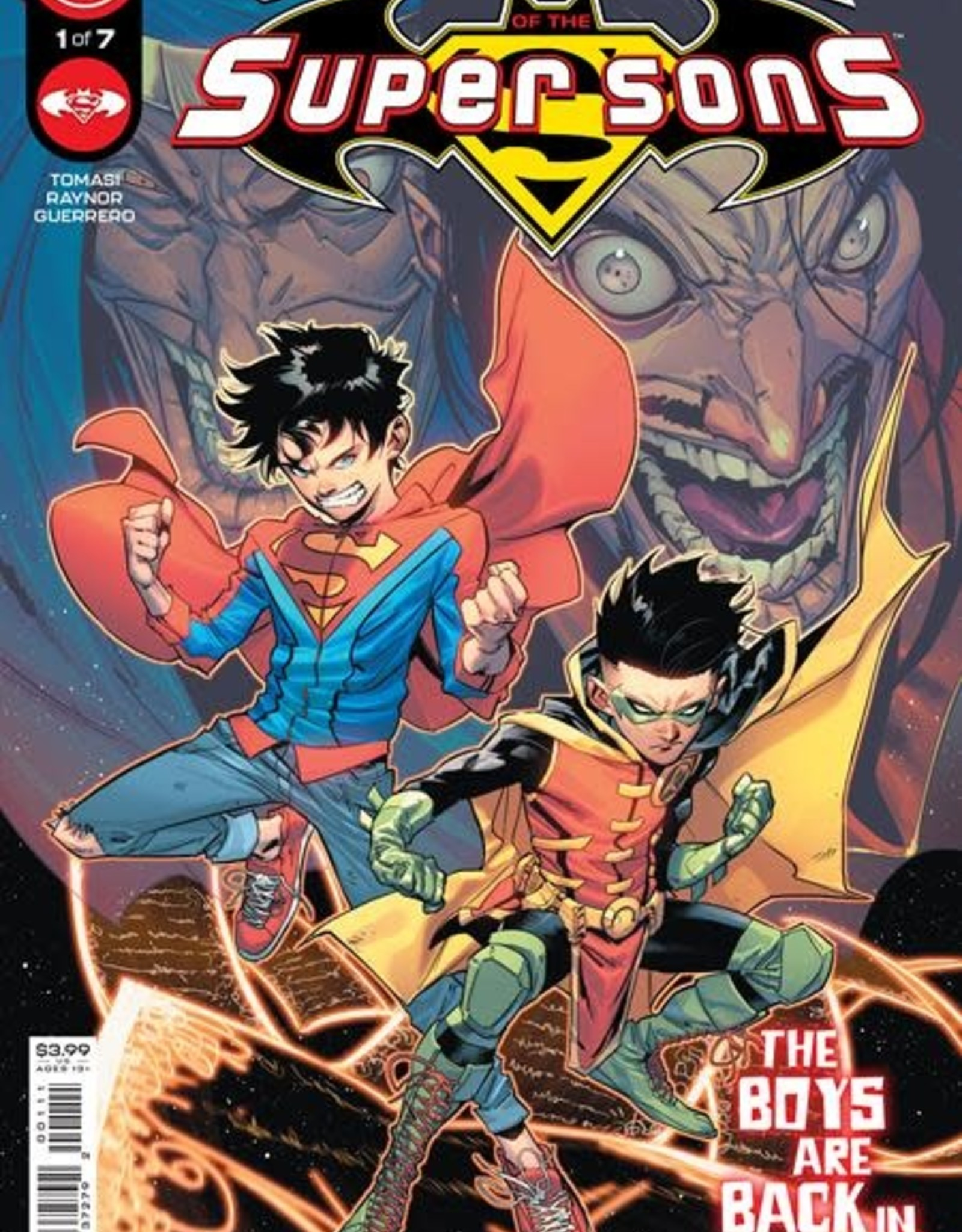 DC Comics Challenge Of The Super Sons #1 Cvr A Jorge Jimenez