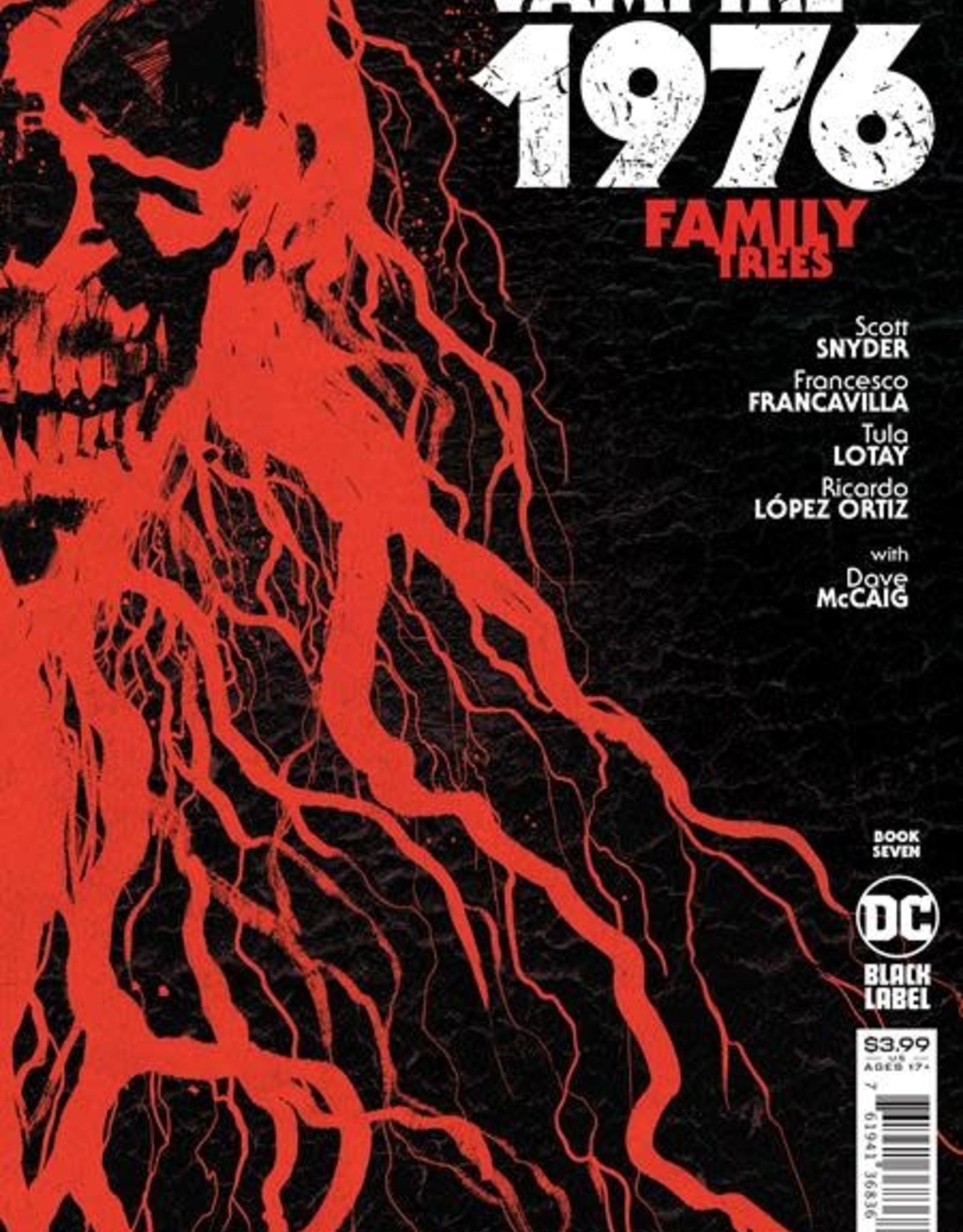 DC Comics American Vampire 1976 #7 Cvr A Rafael Albuquerque