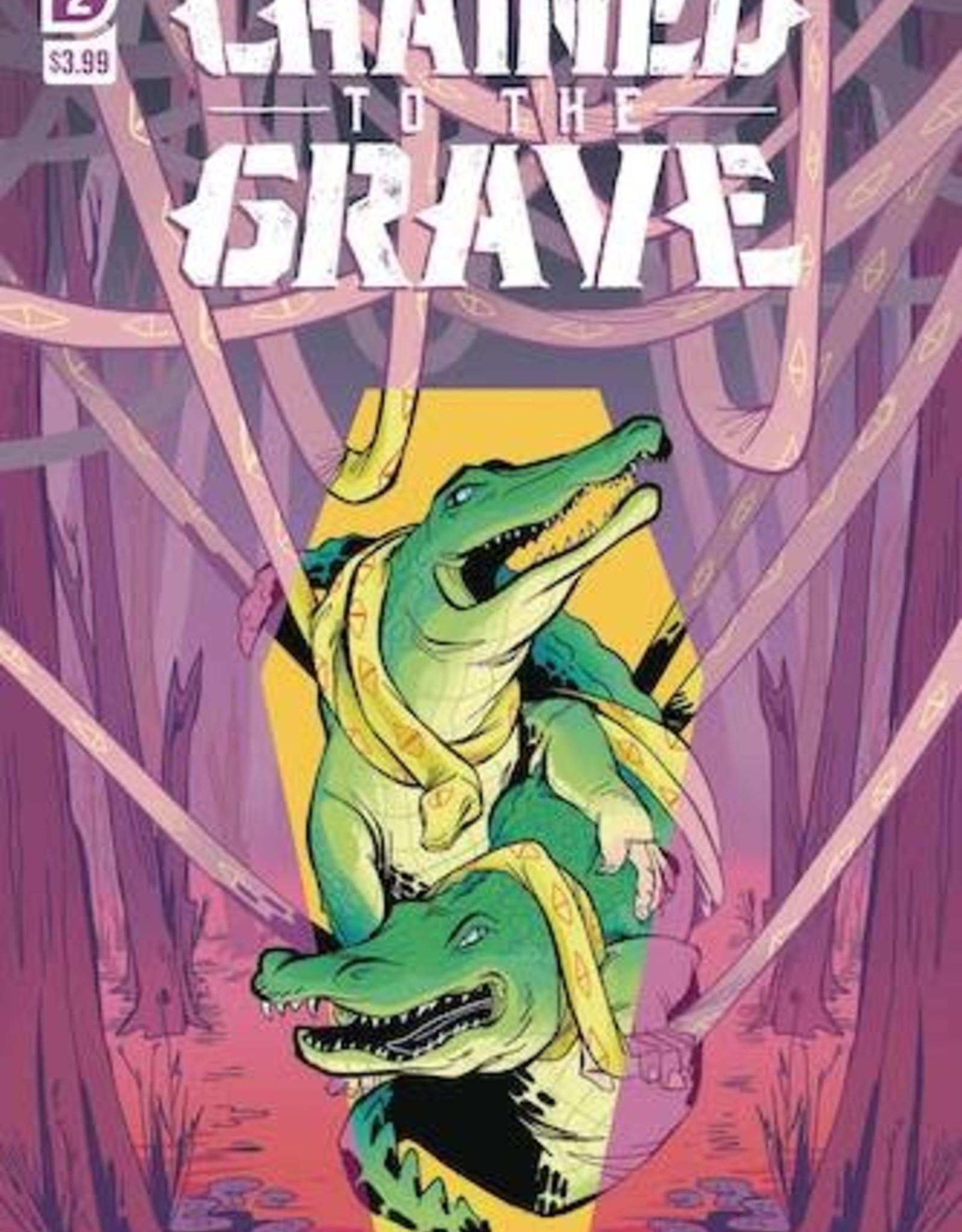 IDW Publishing Chained To The Grave #2 Cvr A Sherron