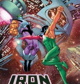 Marvel Comics Iron Man #8 Pacheco Reborn Var