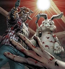 Zenescope Entertainment Man Goat & Bunny Man #1 Cvr A Salazar