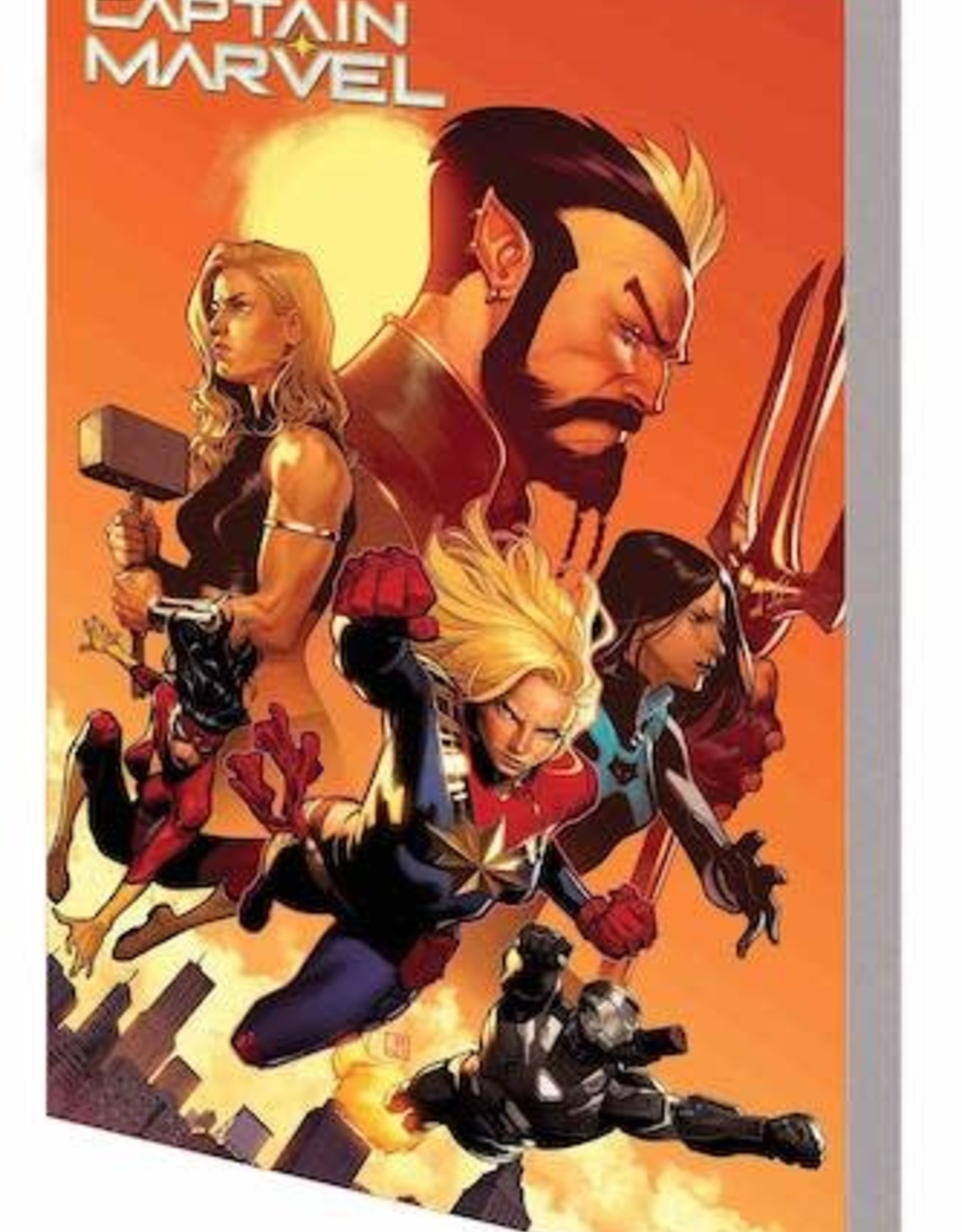 Marvel Comics Captain Marvel  Vol 05: New World TP