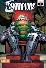 Marvel Comics Champions #6 Pacheco Reborn Var