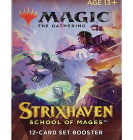Wizards of the Coast Magic the Gathering: Strixhaven Set Booster Pack