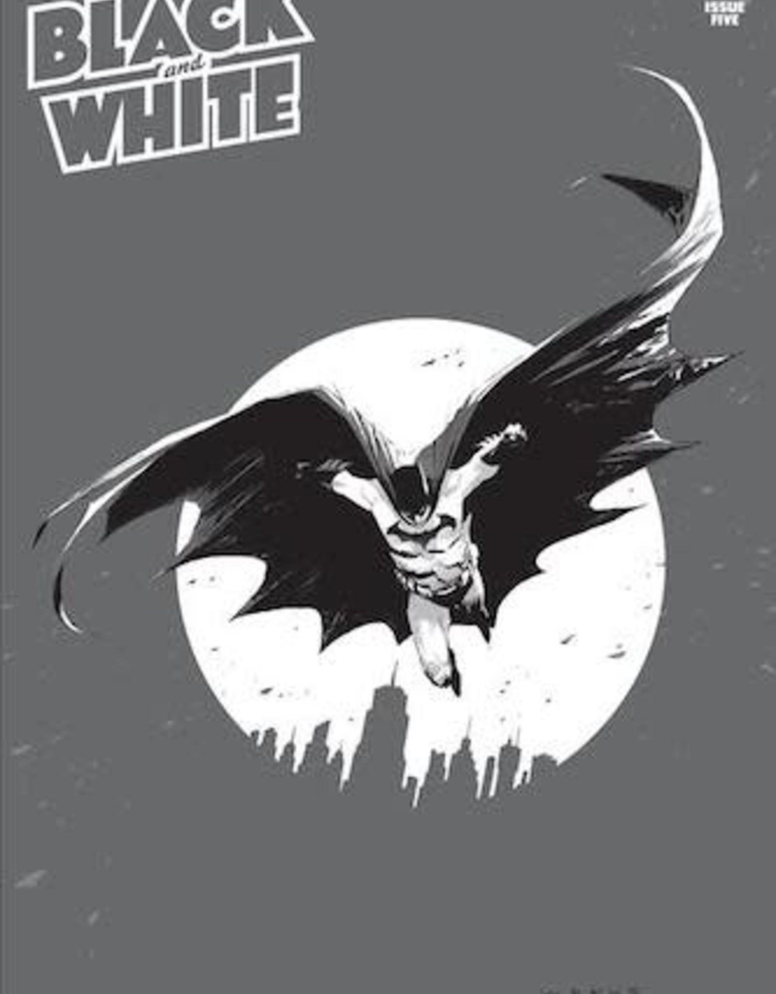 DC Comics Batman Black And White #5 Cvr A Lee Weeks