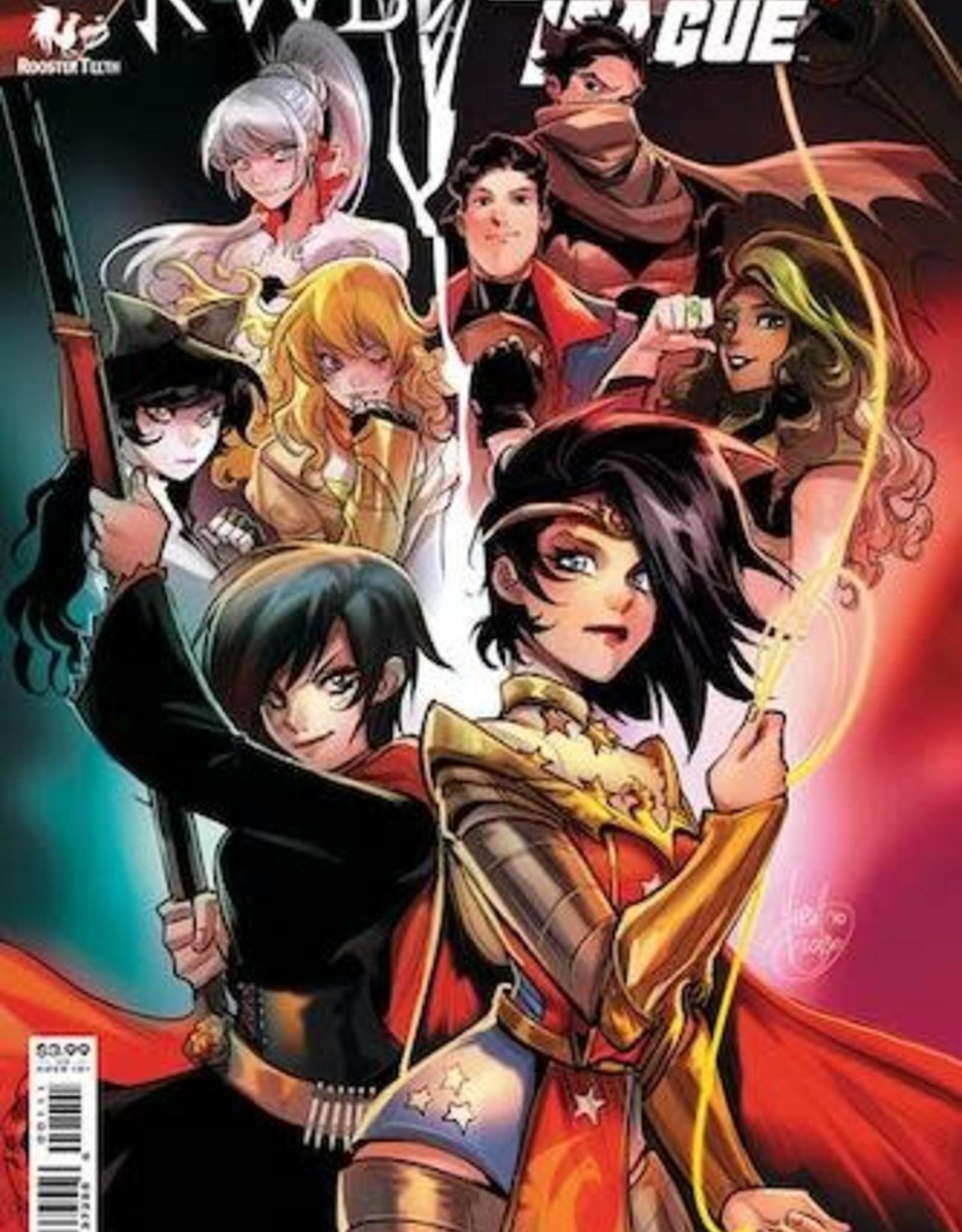 DC Comics RWBY Justice League #1 Cvr A Mirka Andolfo