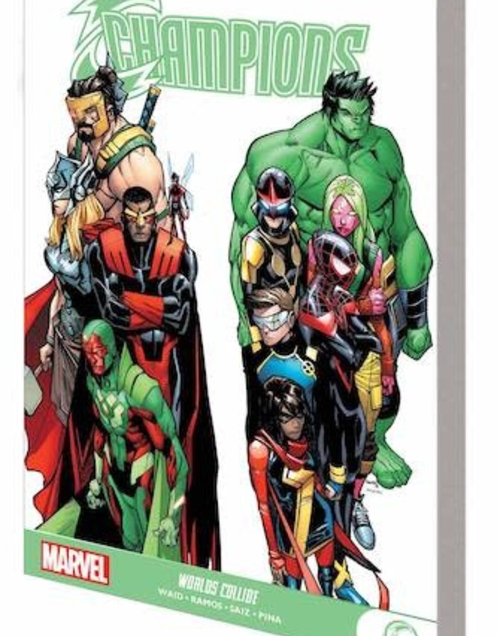Marvel Comics Champions Gn TP Worlds Collide