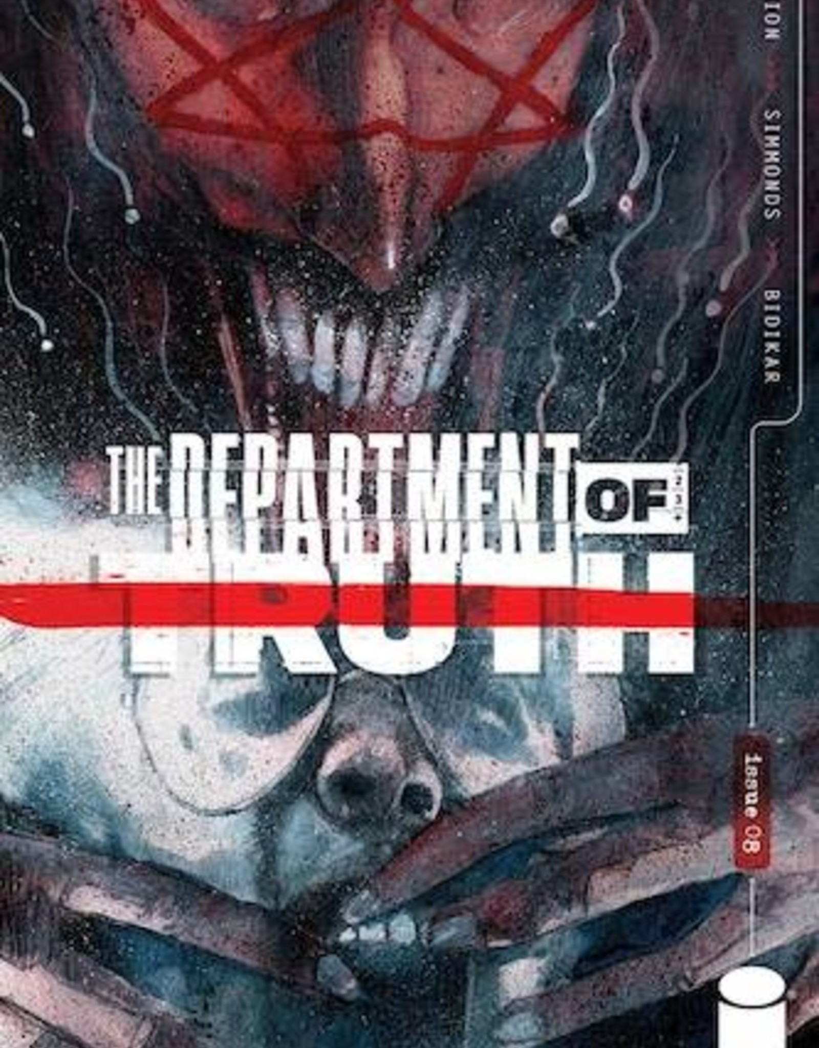 Image Comics Department Of Truth #8 Cvr A Simmonds