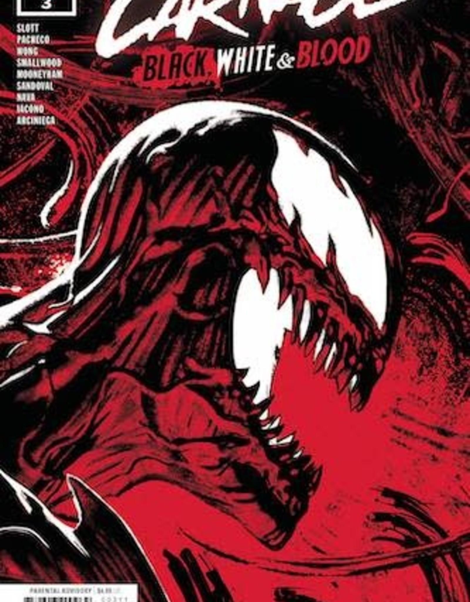 Marvel Comics Carnage Black White And Blood #3