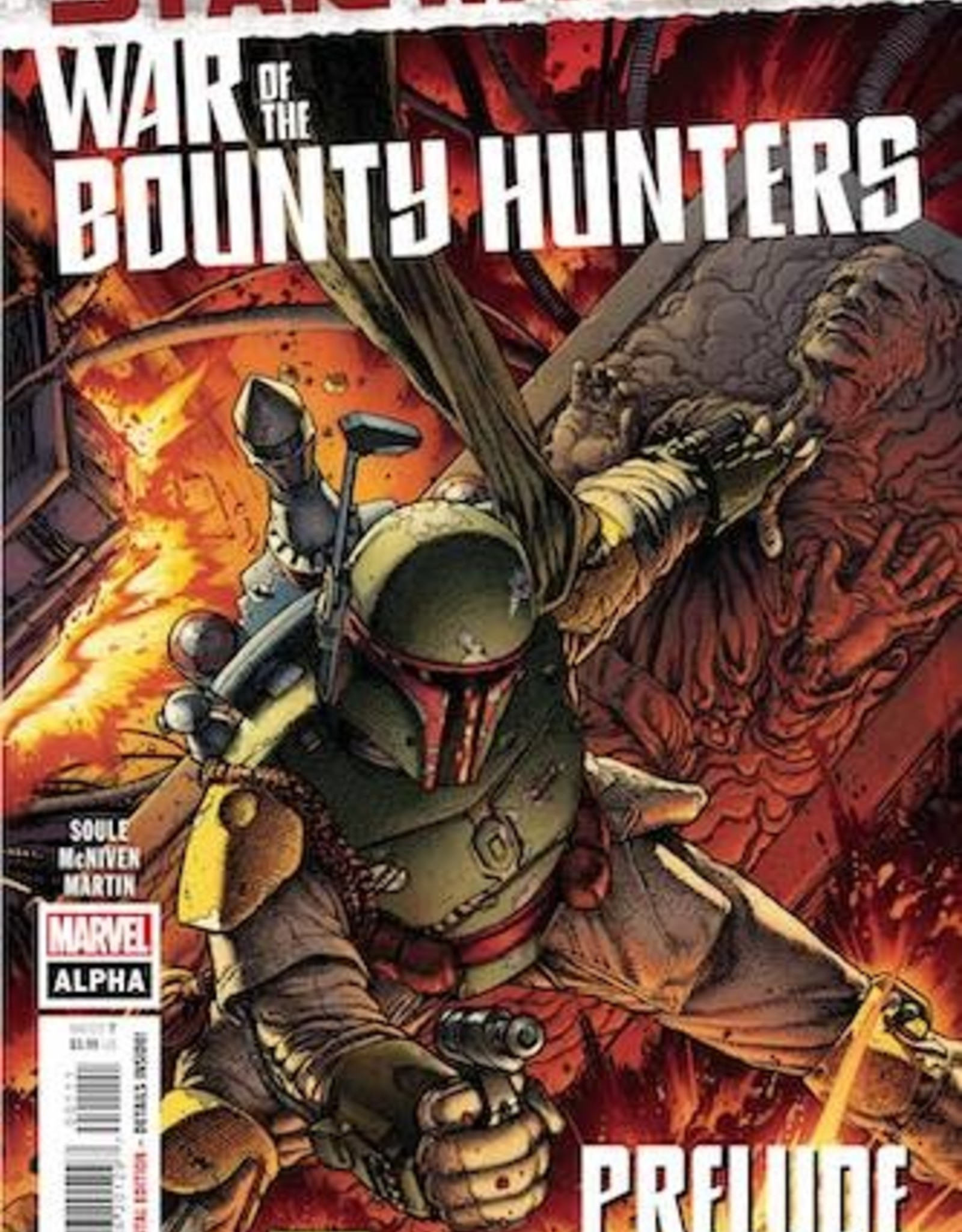 Marvel Comics Star Wars War Bounty Hunters Alpha #1