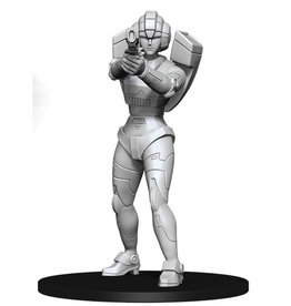 Wizkids Transformers Deep Cuts: Unpainted Miniatures: W2 Arcee