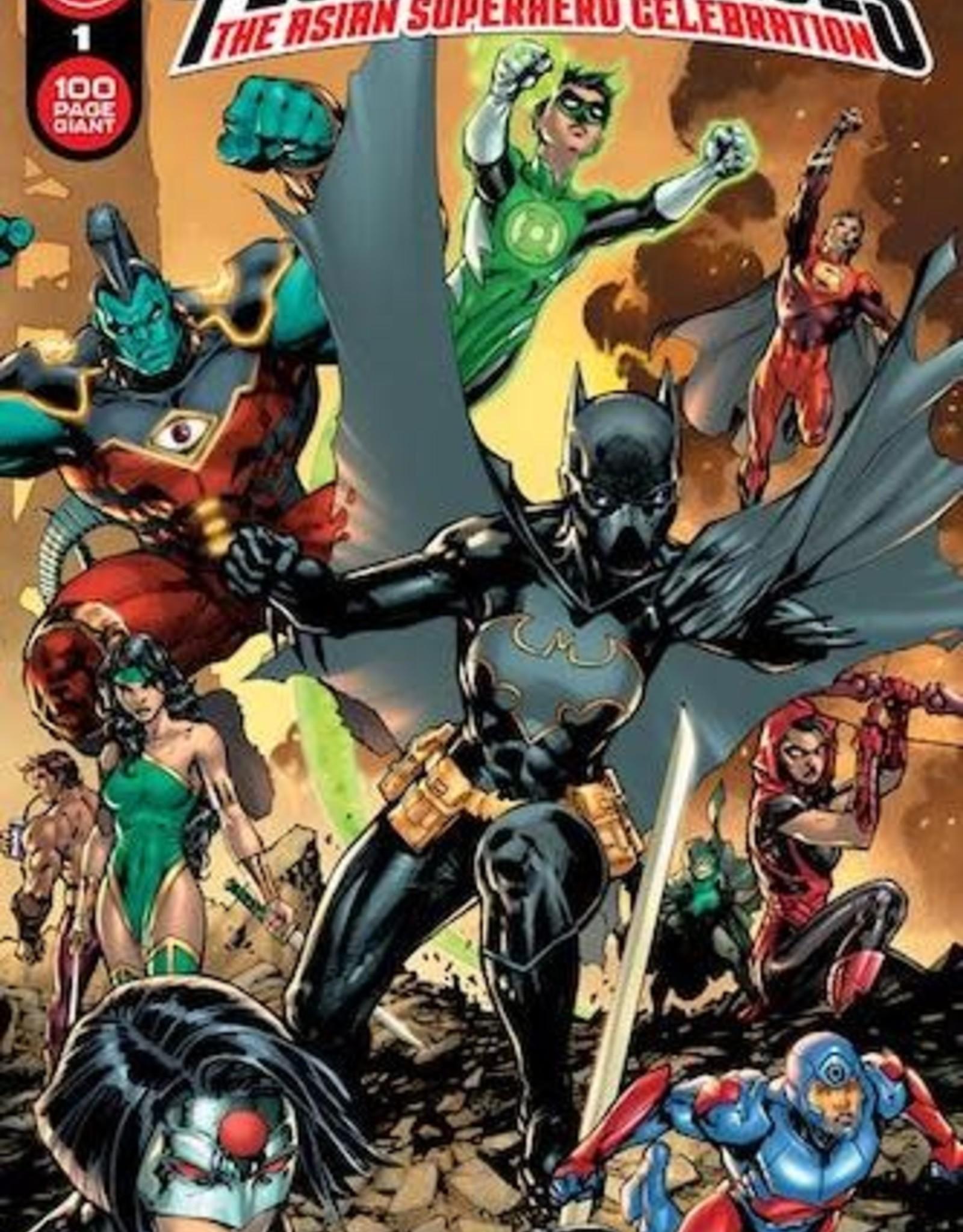DC Comics DC Festival Of Heroes The Asian Superhero Celebration #1 (One Shot) Cvr A Jim Lee