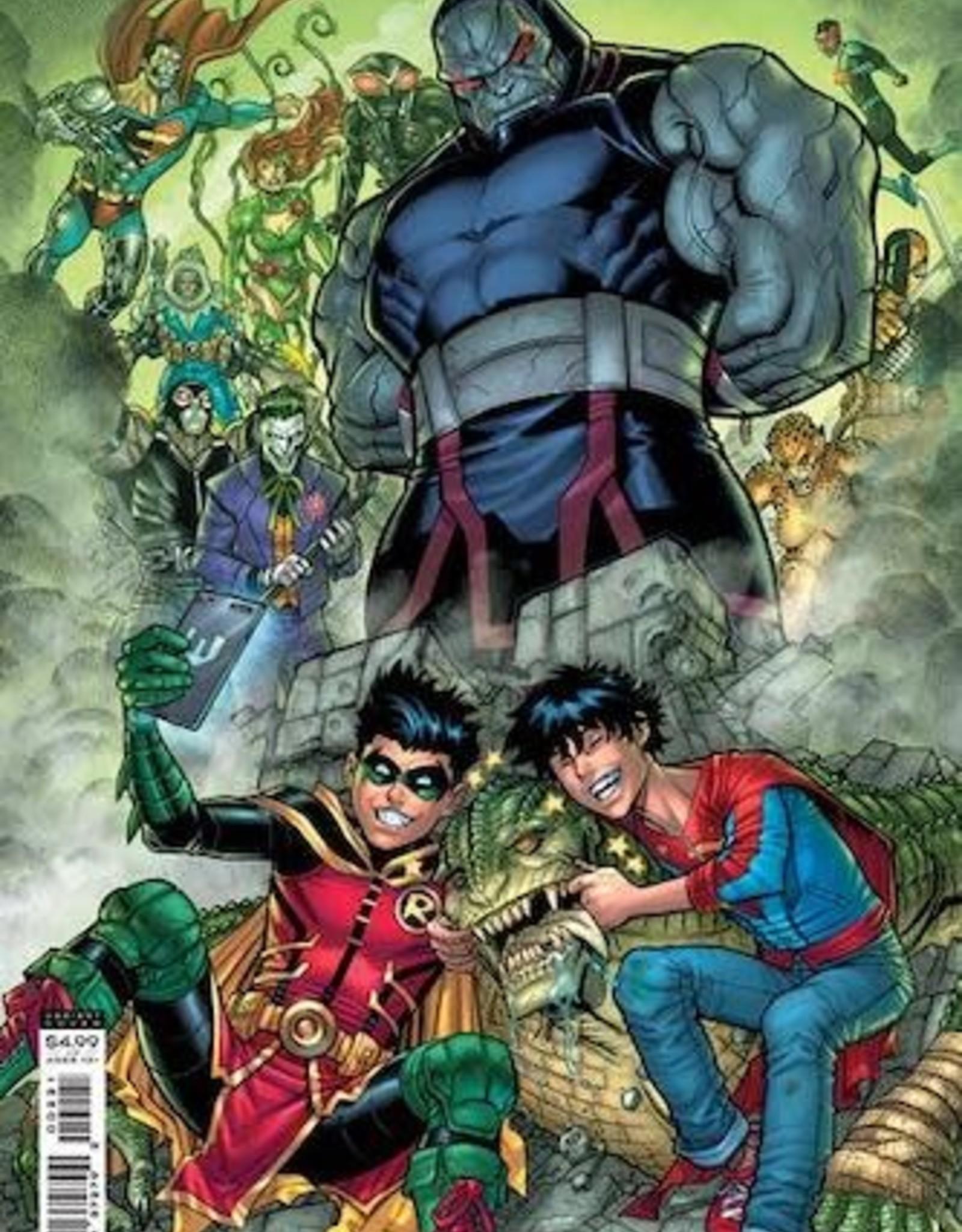 DC Comics Challenge Of The Super Sons #2 Cvr B Nick Bradshaw Card Stock Var
