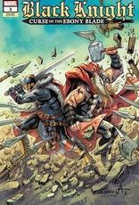 Marvel Comics Black Knight Curse Ebony Blade #3 Davila Var