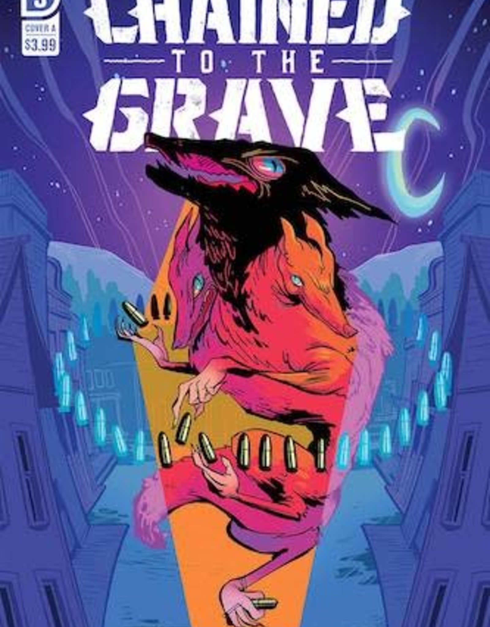 IDW Publishing Chained To The Grave #3 Cvr A Sherron