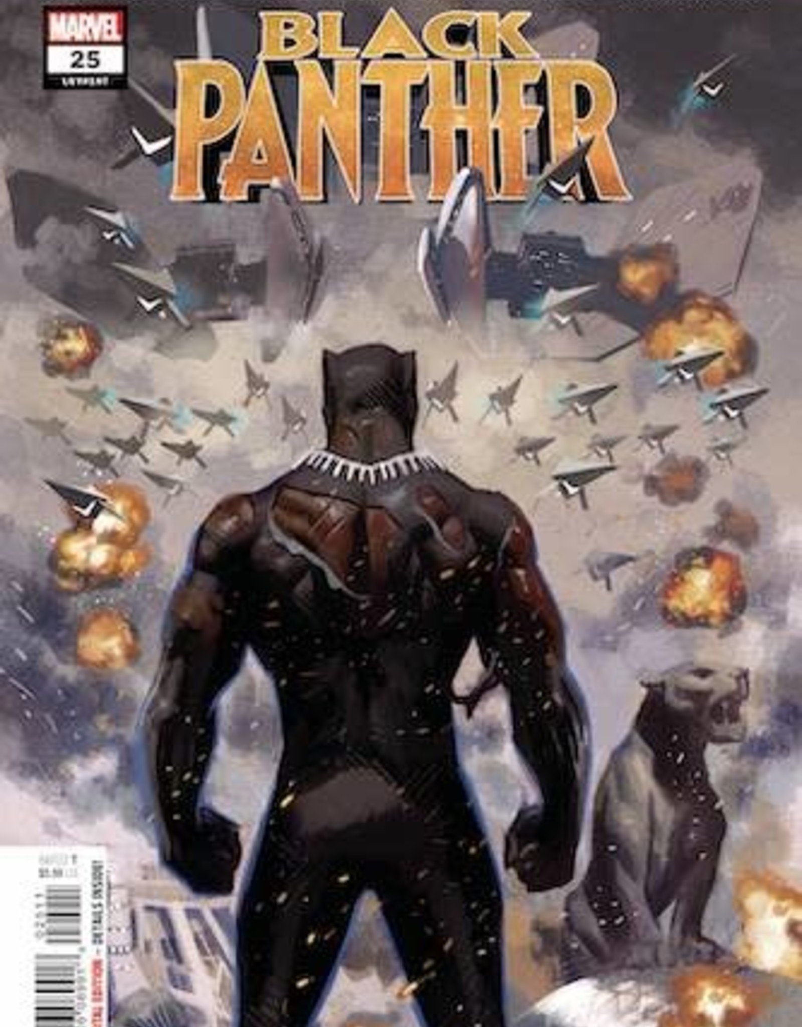 Marvel Comics Black Panther #25