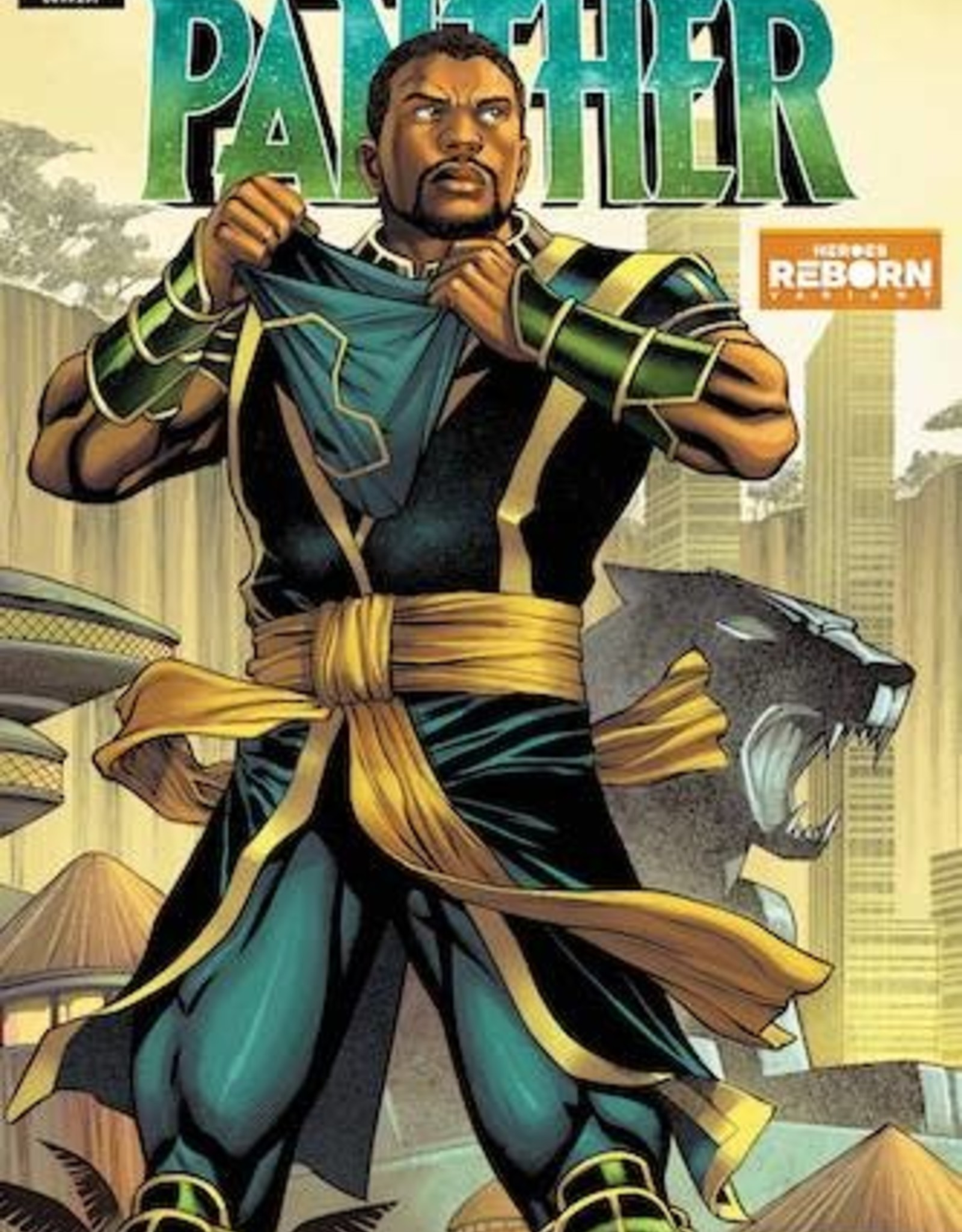 Marvel Comics Black Panther #25 Reborn Var