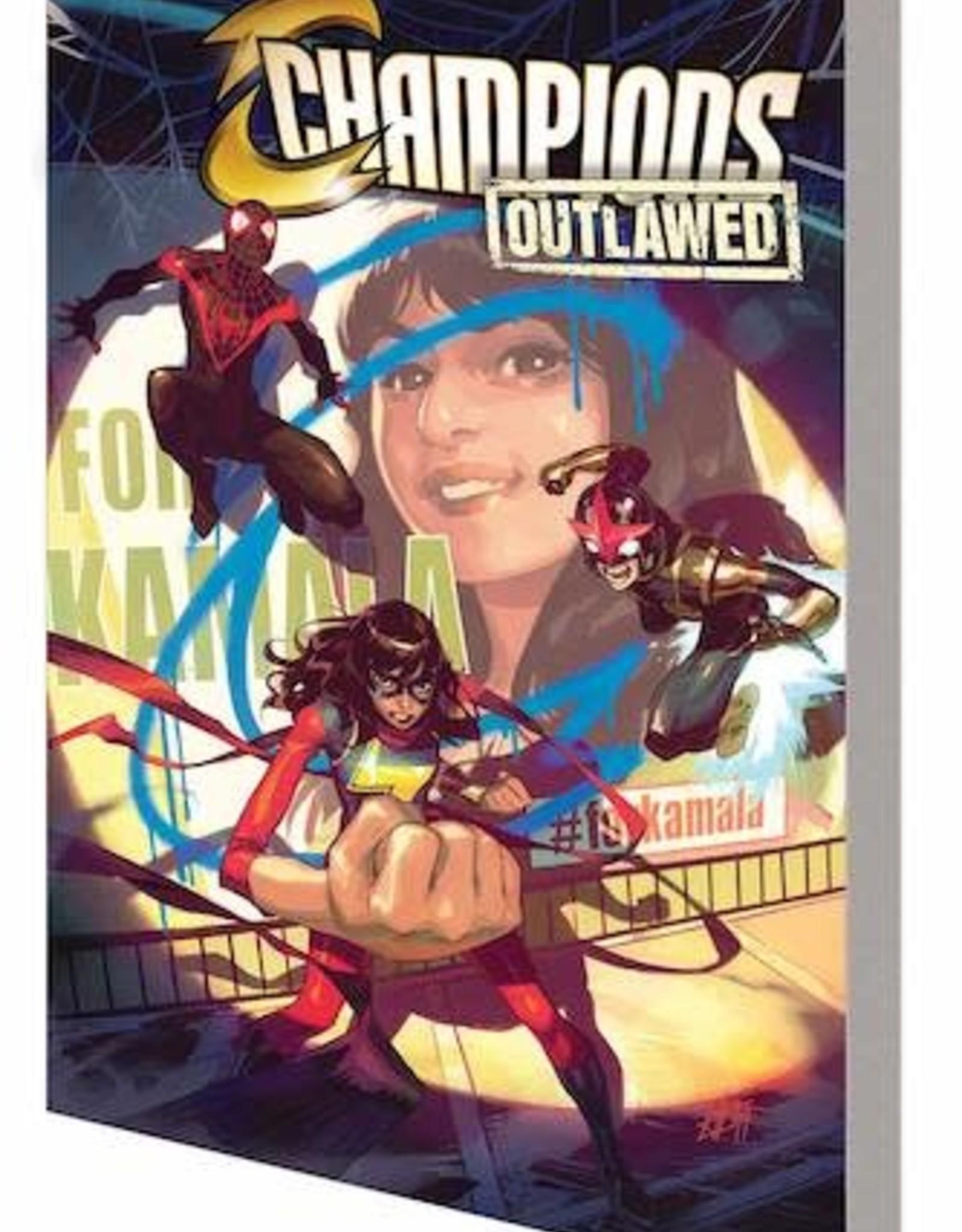 Marvel Comics Champions Vol 01: Outlawed TP