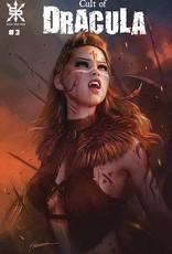 Source Point Press Cult Of Dracula #3 Cvr B Maer