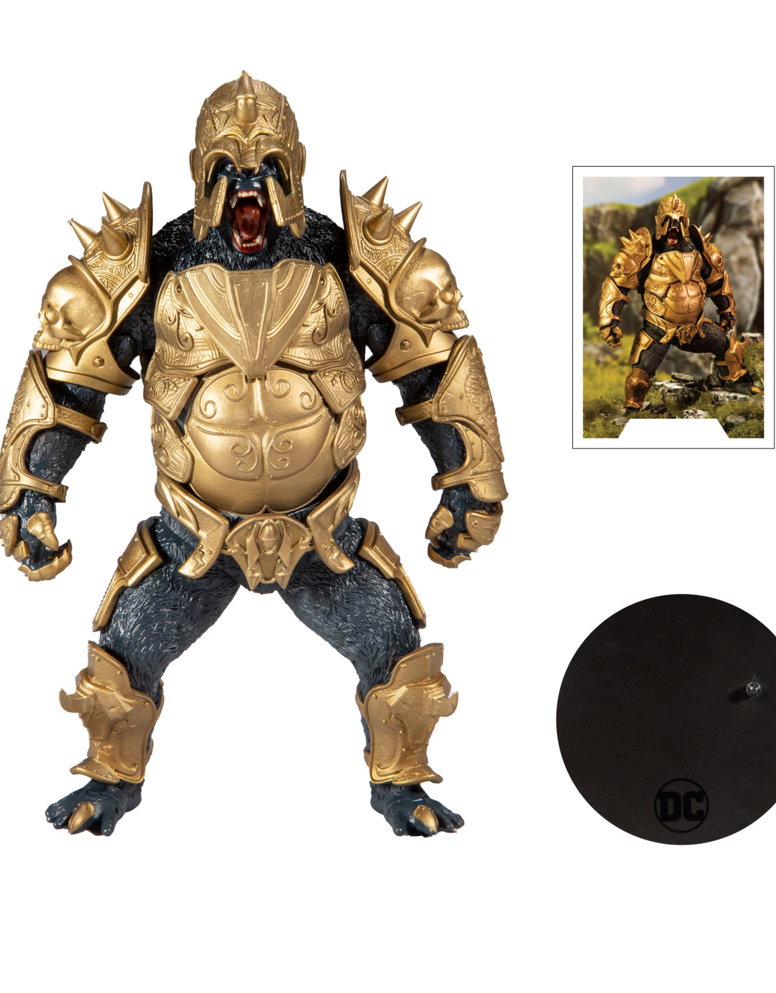 McFarlane Toys DC Gaming 7in Scale Gorilla Grodd Action Figure