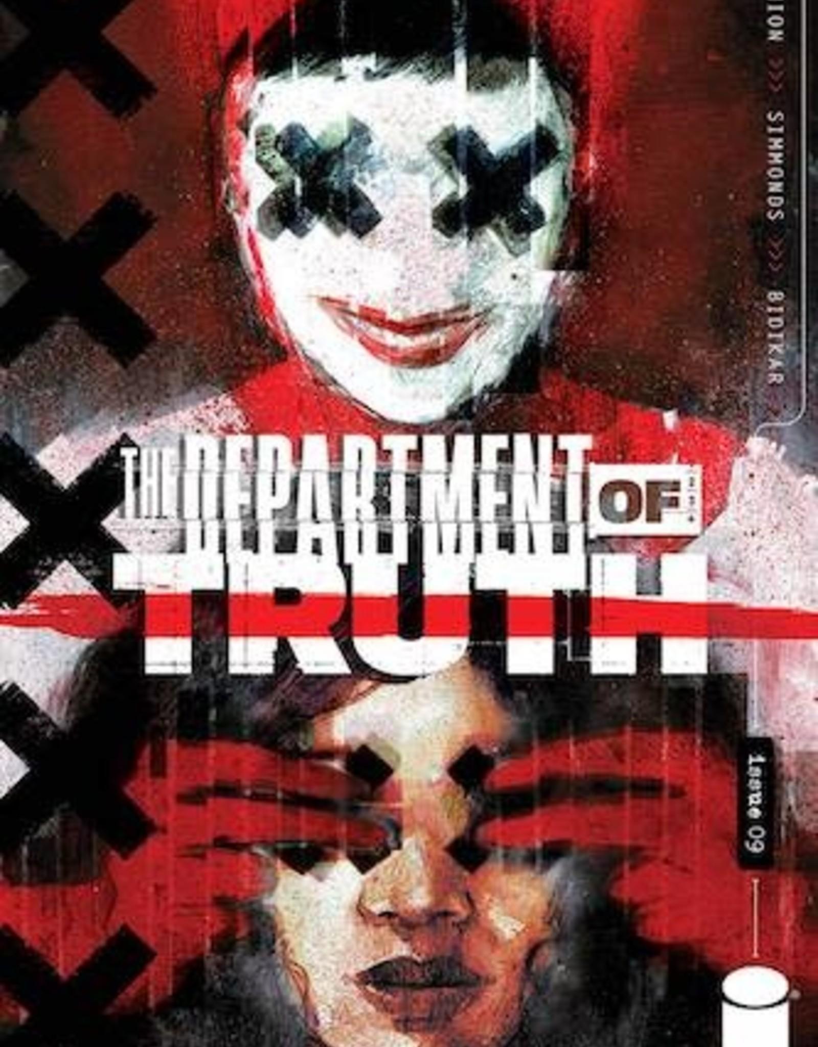 Image Comics Department Of Truth #9 Cvr A Simmonds