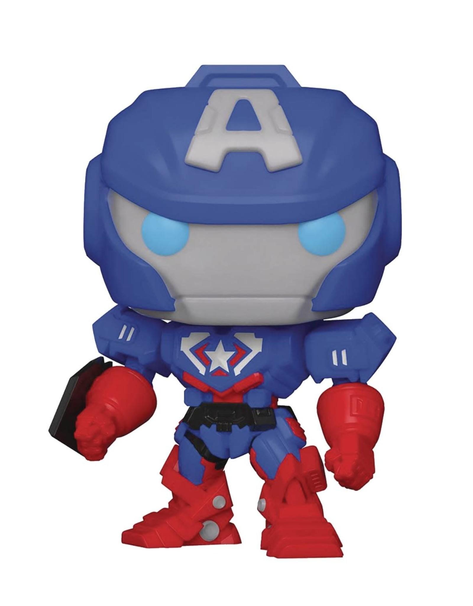 Funko POP Marvel: Marvel Mech- Captain America