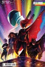 DC Comics Batman #109 Cvr C Jen Bartel Pride Month Card Stock Var