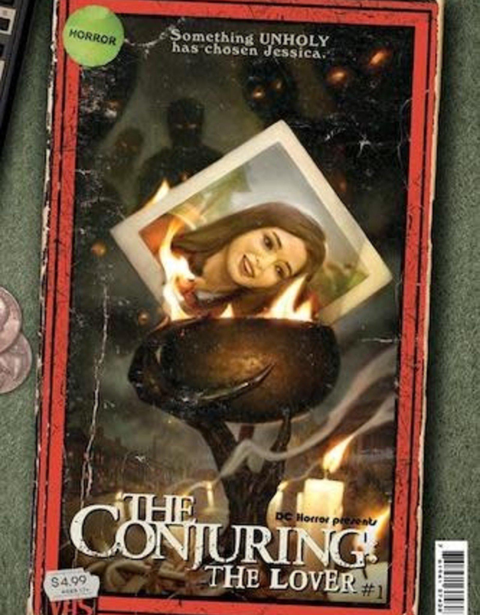 DC Comics DC Horror Presents The Conjuring The Lover #1 Cvr B Ryan Brown Vhs Tribute Card Stock Var