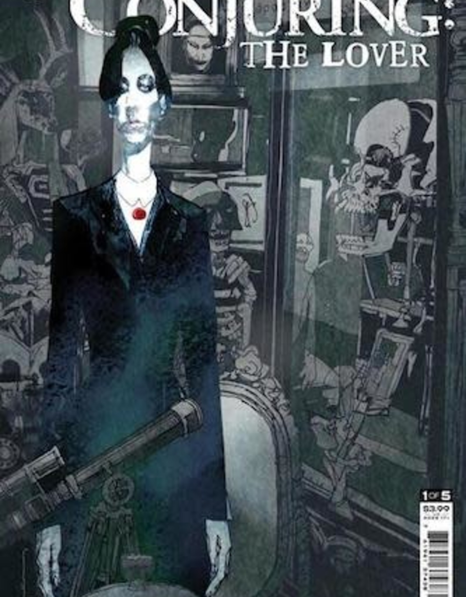 DC Comics DC Horror Presents The Conjuring The Lover #1 Cvr A Bill Sienkiewicz