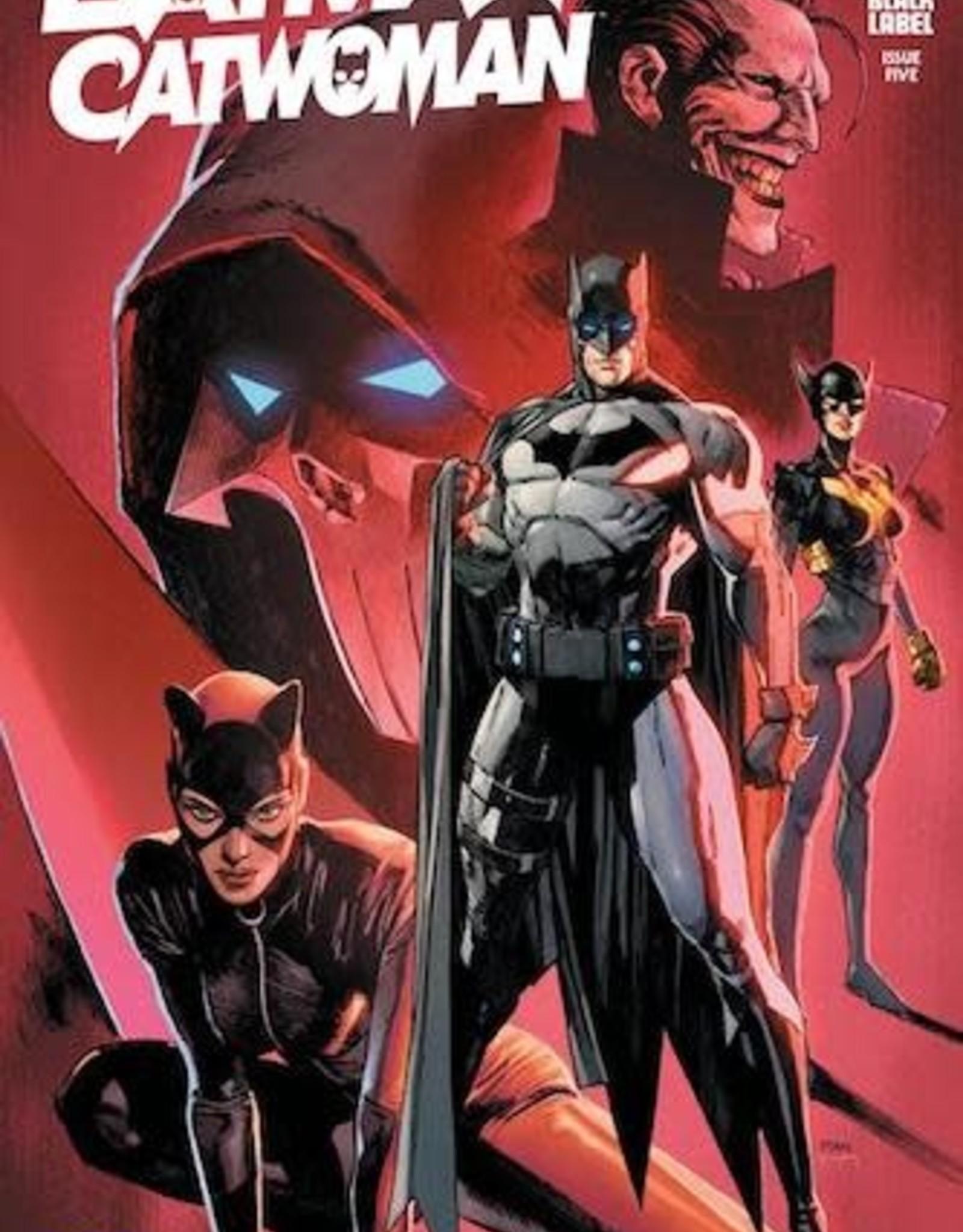 DC Comics Batman Catwoman #5 Cvr A Clay Mann