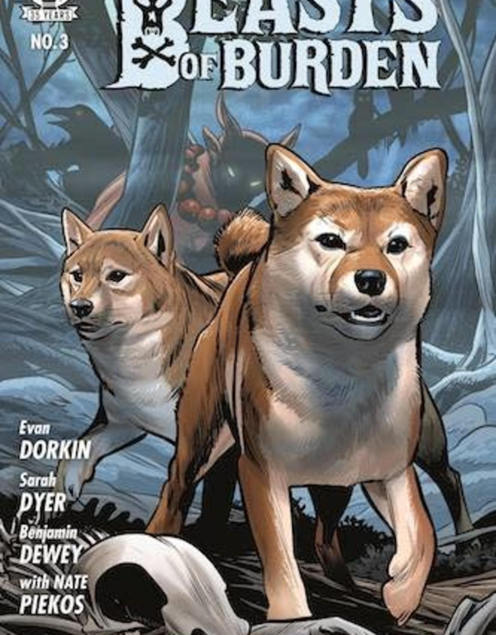 Dark Horse Comics Beasts Of Burden Occupied Territory #3 Cvr A Dewey