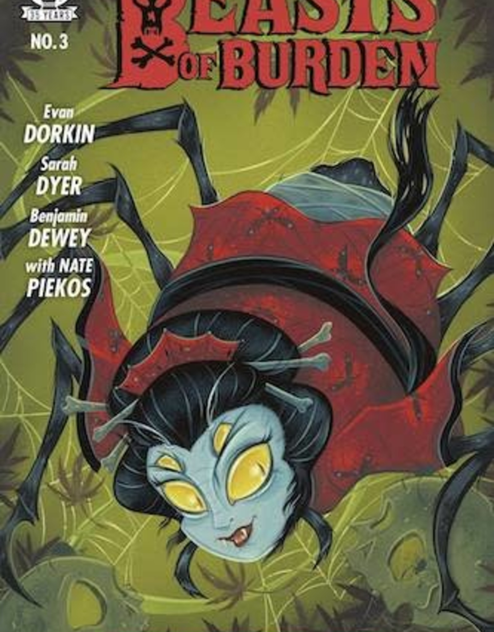 Dark Horse Comics Beasts Of Burden Occupied Territory #3 Cvr B Buscema