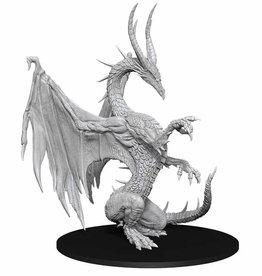 Wizkids Pathfinder: Deepcuts Unpainted Miniatures: W14 Blue Dragon