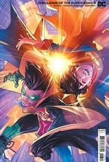 DC Comics Challenge Of The Super Sons #3 Cvr B Jamal Campbell Card Stock Var