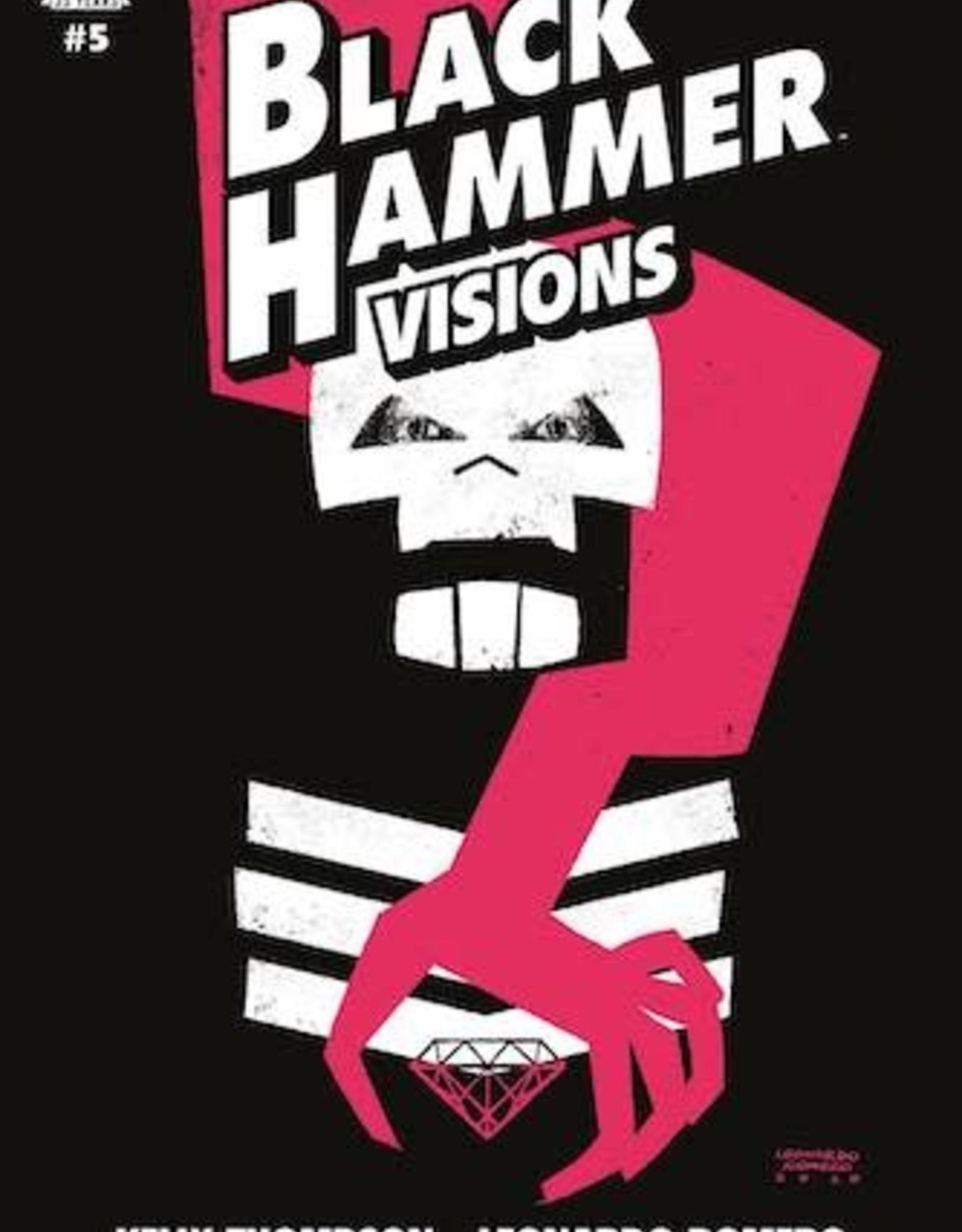 Dark Horse Comics Black Hammer Visions #5 Cvr A Romero