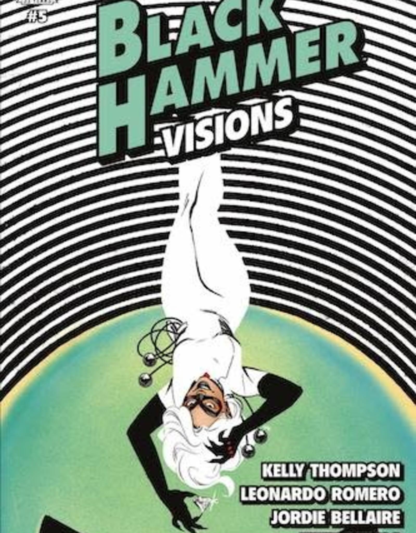 Dark Horse Comics Black Hammer Visions #5 Cvr B Wu