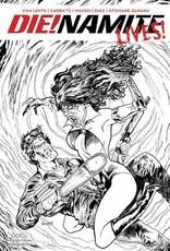 Dynamite Die!namite Lives #1 10 Copy Acosta Pencil Art